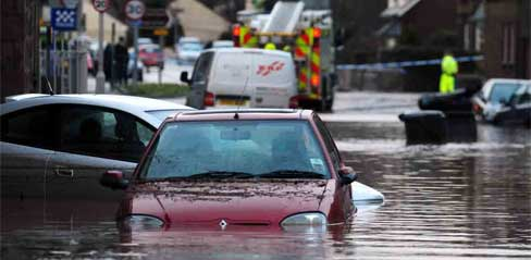 Stonehaven Floods - Dec 2012